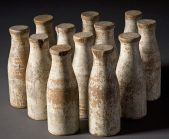 Milk-Bottles-Wooden
