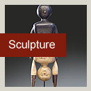 Stone, Wood Carvings, Ceramics, Mixed media, Statuary