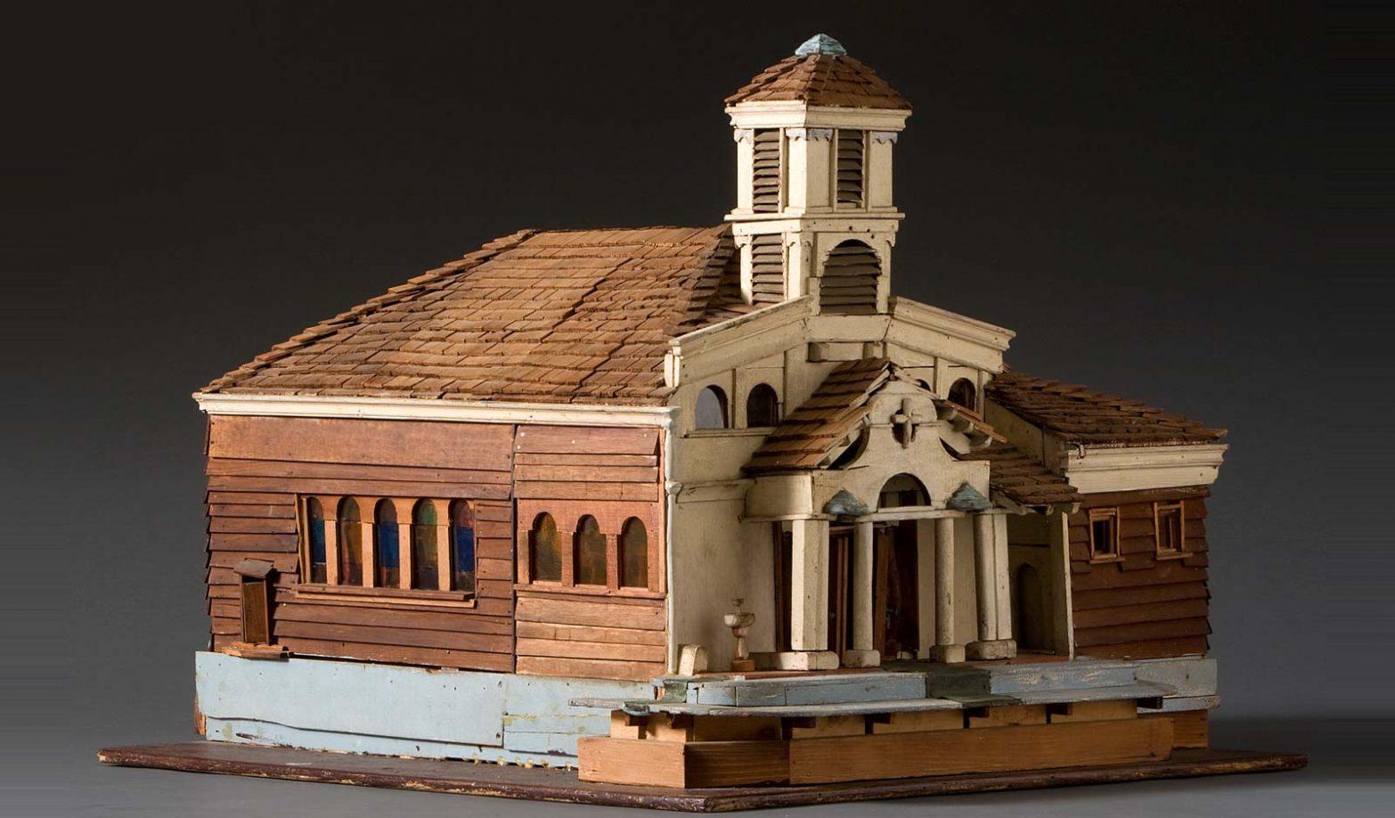 Architectural Church Model Just Folk