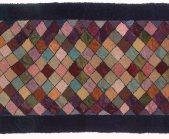 rug runner blue